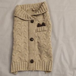 Dog sweater pullover